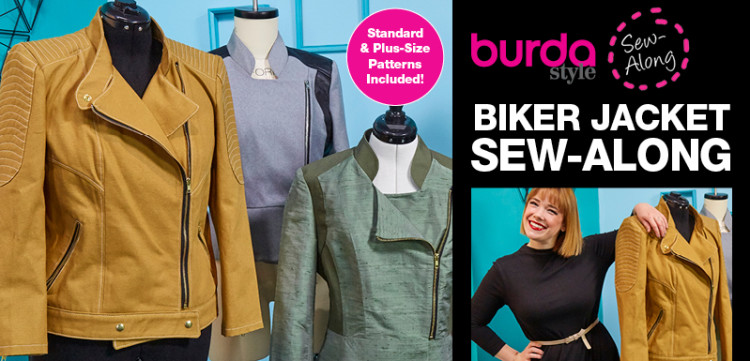 BurdaStyle Biker Jacket Sew Along with Meg Healy