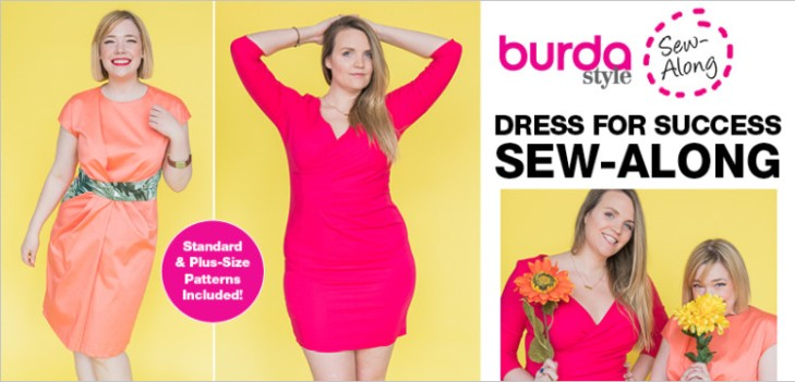 BurdaStyle Dress Sew Along with Meg Healy