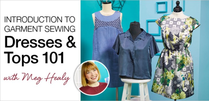 BurdaStyle Intro to Sewing Course with Meg Healy