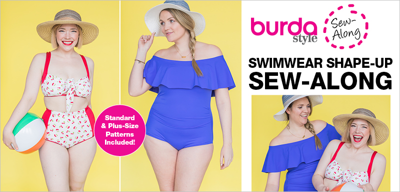 BurdaStyle Retro Swimsuit Sew Along with Meg Healy