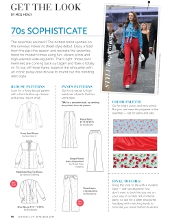 "Get The Look ""70s Sophisticate pg.88"